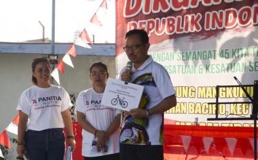 700 Peserta Ikuti Jalan Sehat Kampung Mangkukusuman