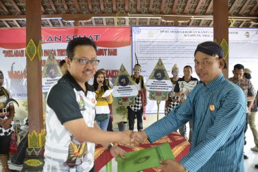 Mrican Deklarasikan kampung Panca Tertib