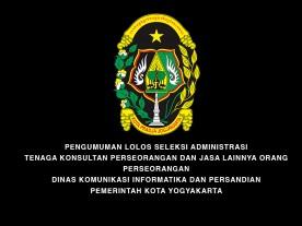 Pengumuman Lolos Seleksi Administrasi Tenaga Konsultan Dinas Kominfosandi