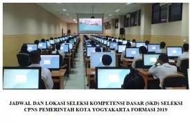 Jadwal dan Lokasi Seleksi Kompetensi Dasar Seleksi CPNS Pemerintah Kota Yogyakarta Formasi 2019