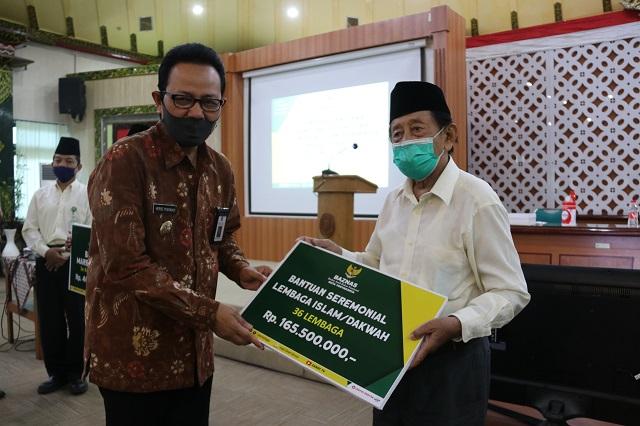 409 Marbot Masjid Terima Bantuan