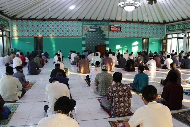 Salat Idul Adha di Masjid Pangeran Diponegoro Dikhususkan bagi Warga Sekitar