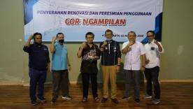 Walikota Serahkan Gedung Olahraga Ngampilan ke Warga Untuk Dikelola