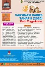 Pemkot Gelar Vaksinasi Hewan Peliharan Tahap II 2020