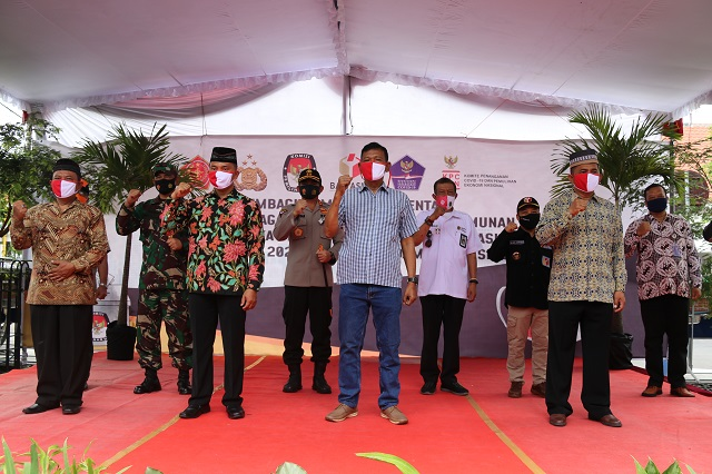 Yogyakarta Gencarkan Kampanye Pemakaian Masker