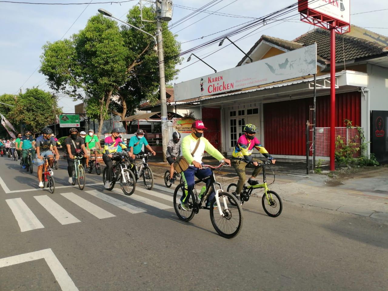 Wakil Walikota Jajal Jalur Wisata Sepeda Rute Tilik Jeron Benteng