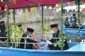 Tiga Pasangan Ikuti Nikah Bareng di Dermaga Cinta Gajahwong