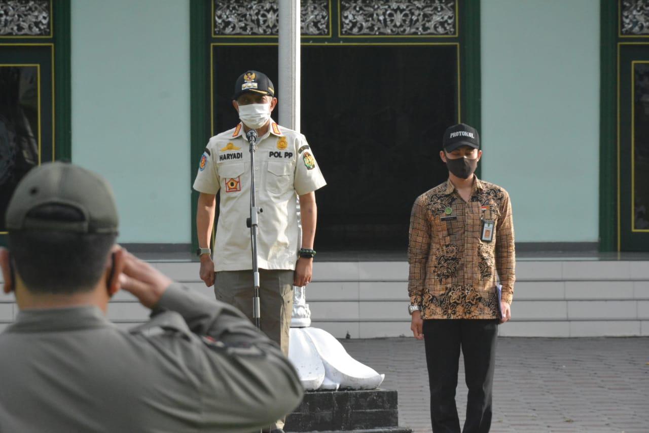 Walikota Yogyakarta Pimpin Apel Gelar Pasukan
