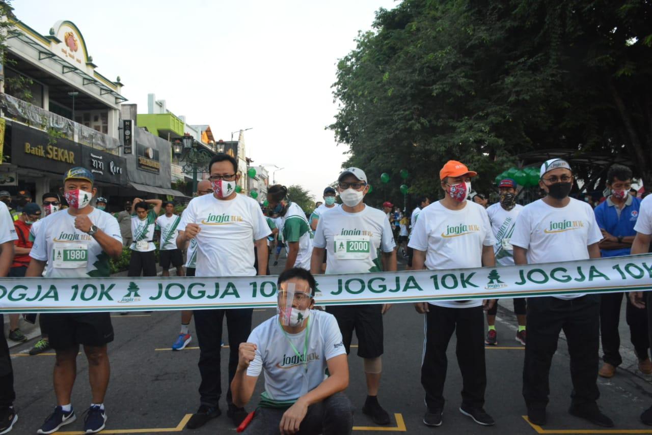 Ribuan Pelari Ikuti Jogja 10K
