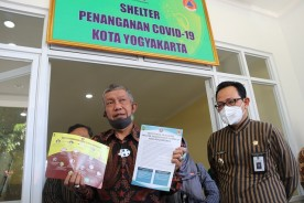 Pemkot Yogya Kaji Penambahan Shelter Covid-19