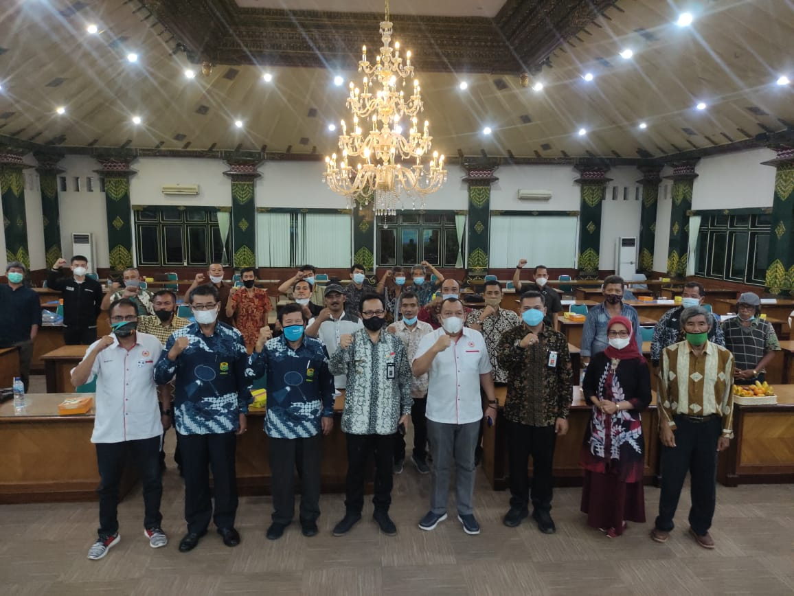 PBSI Kota Yogyakarta Gelar Muskot 2021