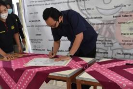 Masyarakat Pengok Deklarasi Kampung Panca Tertib