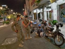 Satpol PP Kota Yogya Giatkan Patroli Prokes Ramadan