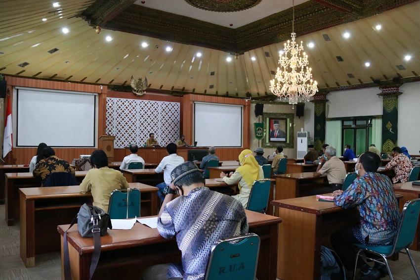 Wawali Ajak Pengurus Kwarcab Realisasikan 100 Pramuka Garuda