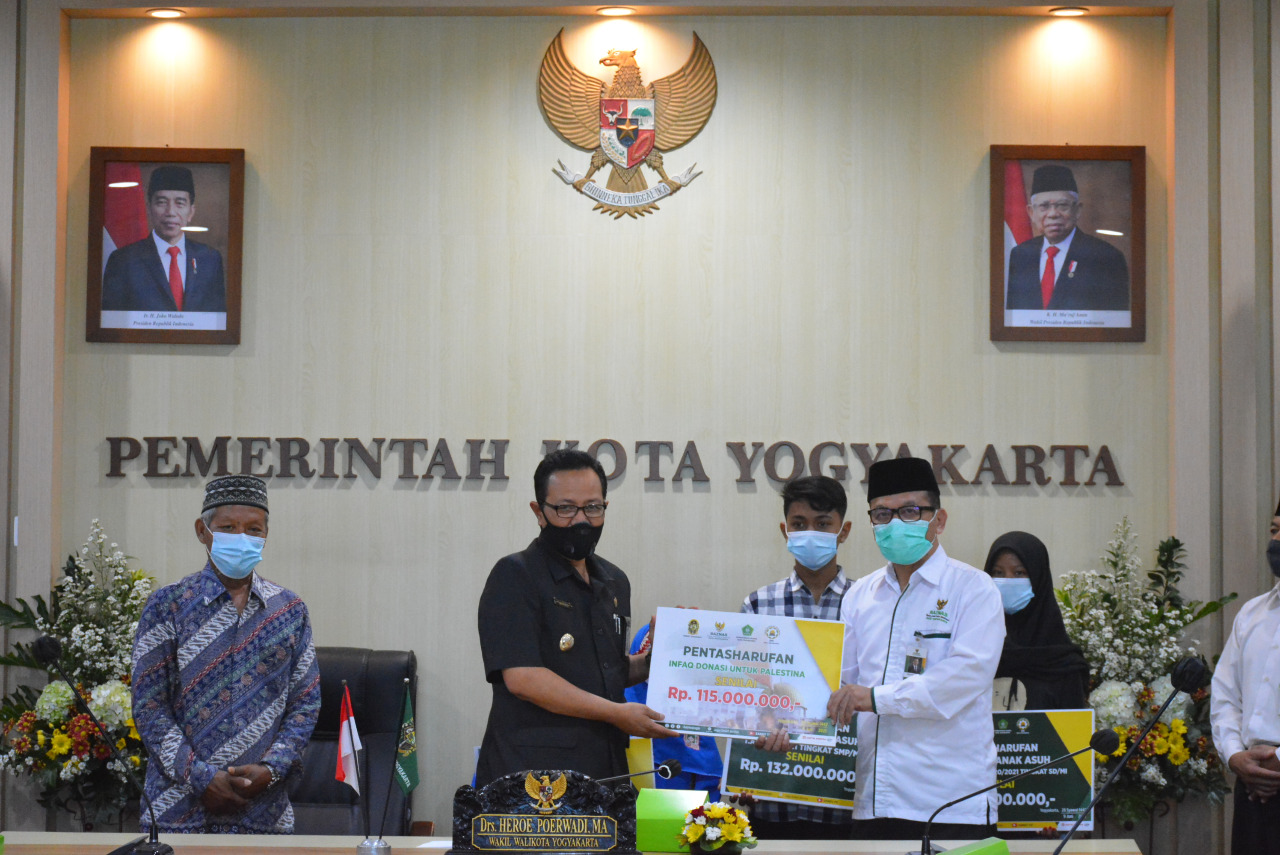 Baznas Kota Yogyakarta Terus Berkomitmen Bantu Umat Manusia