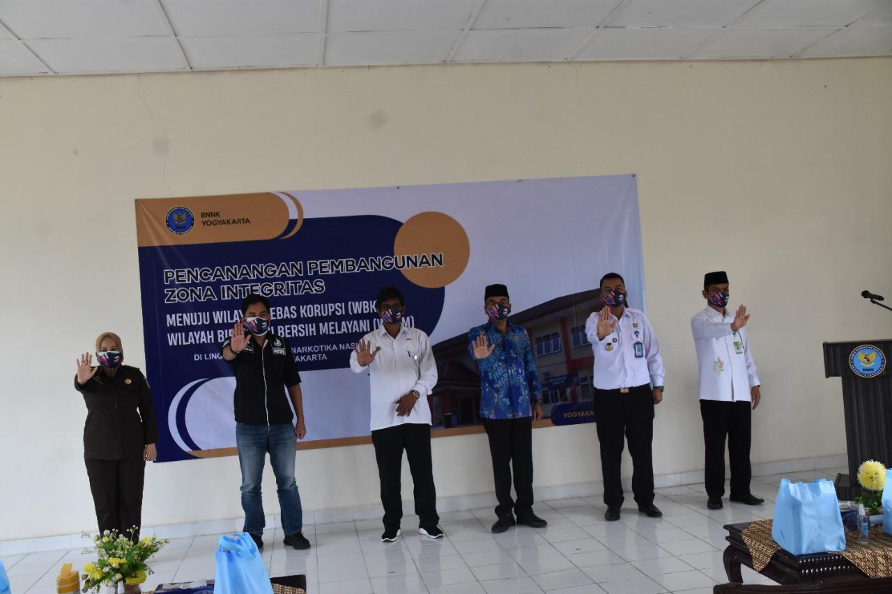 BNN Kota Yogyakarta Canangkan Pembangunan Zona Integritas