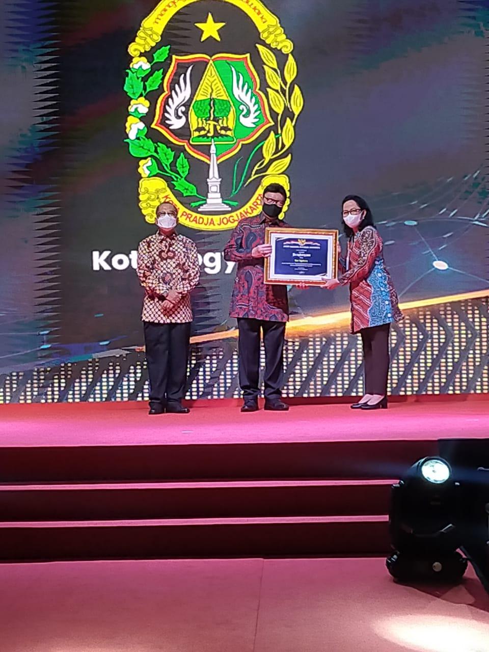 Pemkot Yogya Raih Peringkat Kedua Nasional Penghargaan Kearsipan