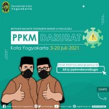Pemberlakuan Pembatasan Kegiatan Masyarakat Darurat COVID-19 di Kota Yogyakarta
