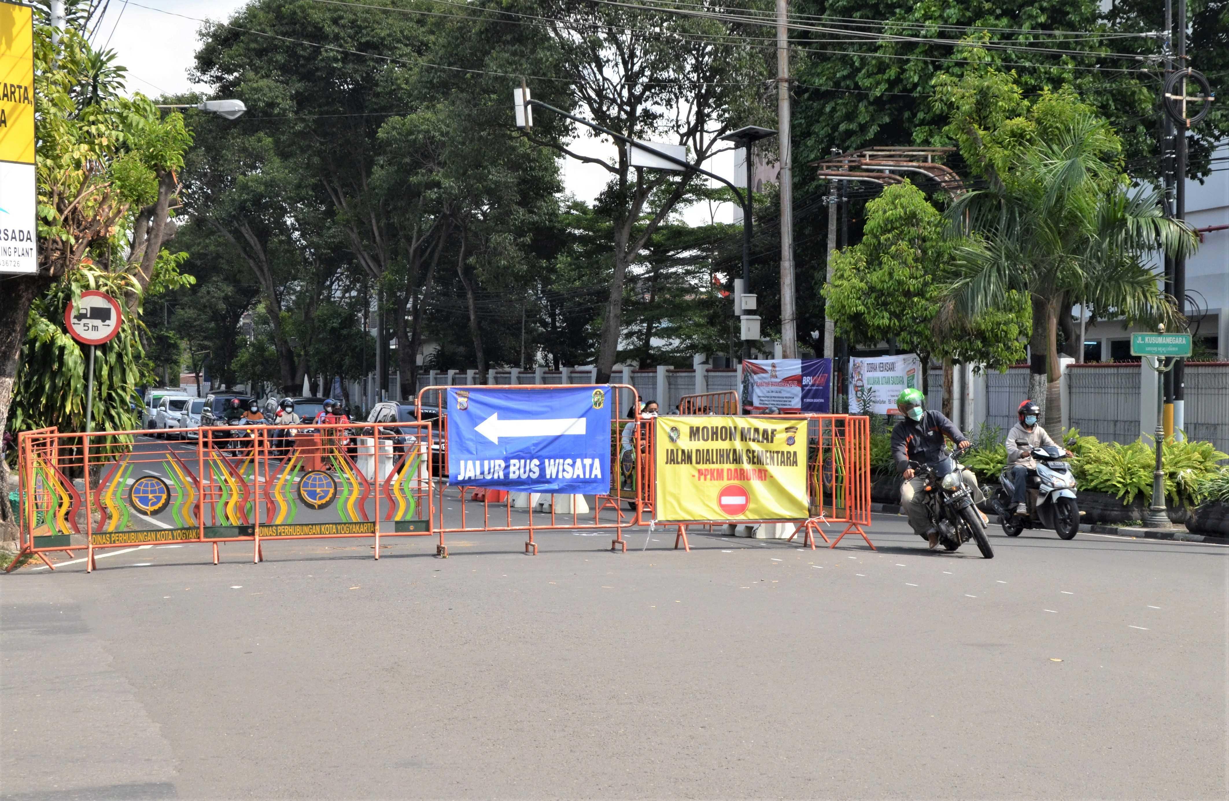 Perketat Pembatasan Mobilitas di Kota Yogya