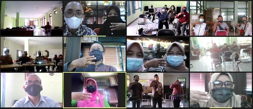 DP3AP2KB Gencar Sosialisasi PATBM Secara Daring