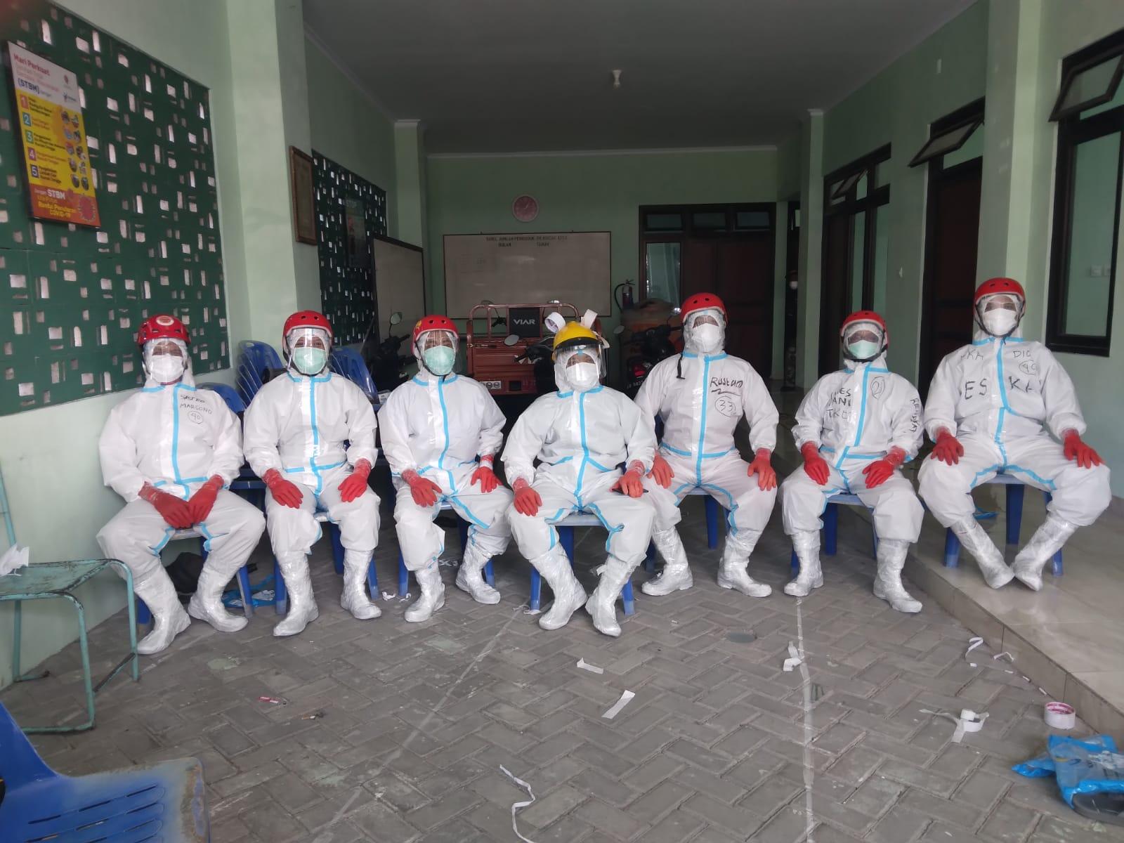 Tim Pitulungan Siap Bantu BPBD Dalam Pemakaman Jenazah