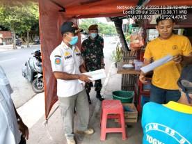 Satpol PP Yogya Peringatkan Pelanggar PPKM Level 4