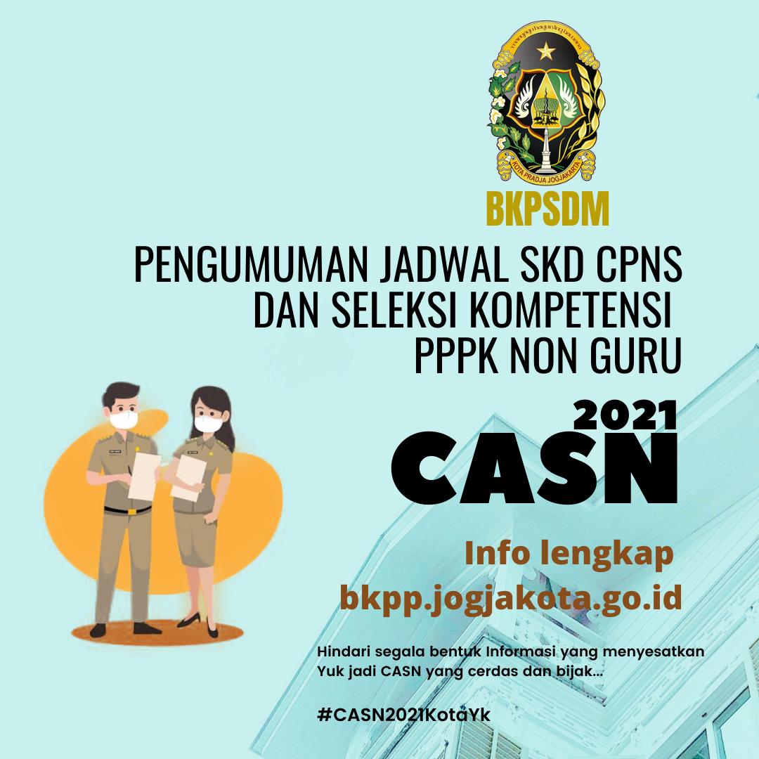 Pengumuman Jadwal SKD CPNS dan Seleksi PPPK Non Guru