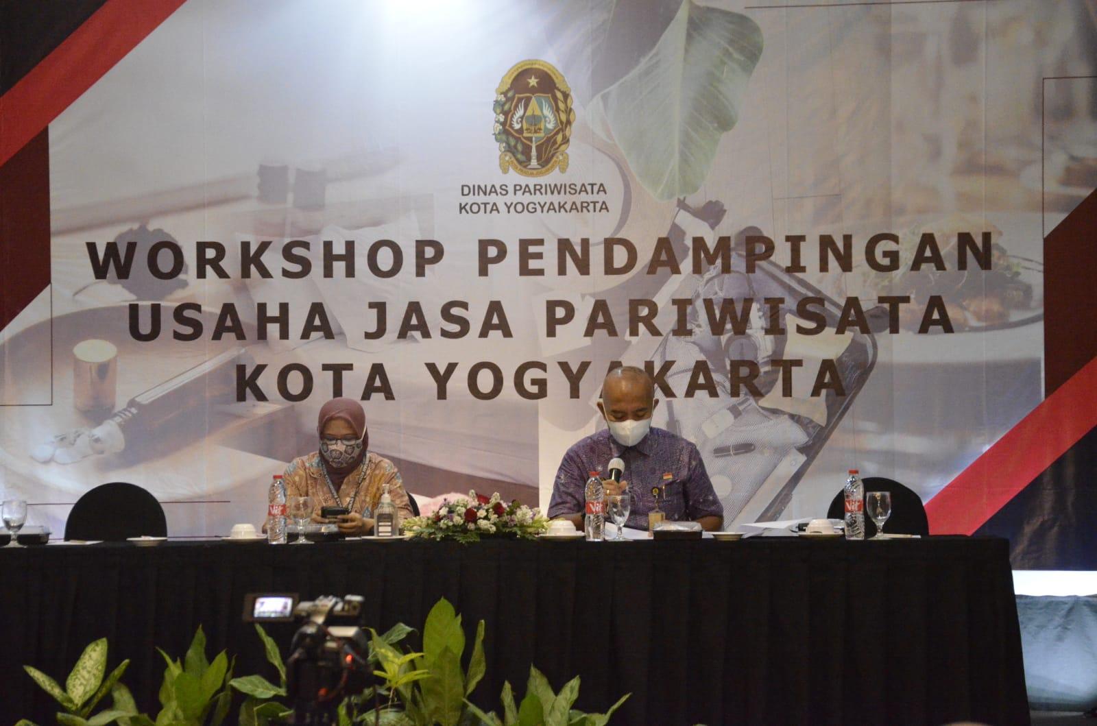 Pemkot Yogya Gelar Workshop Pendampingan Usaha Jasa Pariwisata