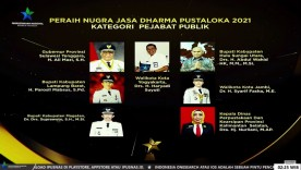 Walikota Yogya Raih Nugra Jasa Dharma Pustaloka Tahun 2021