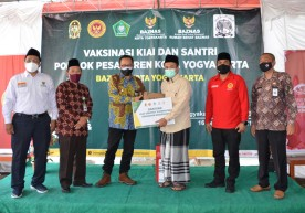 Pemkot Intensifkan Vaksinasi Kyai dan Santri di Yogya