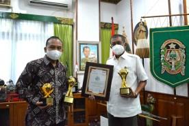 Optimal dalam Pelayanan, PD BPR Bank Jogja Raih TOP BUMD Awards 2021
