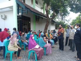 Shelter Mandiri Warungboto Tangguh Gelar Vaksinasi Massal