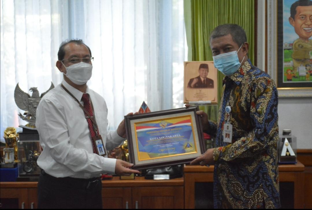 Berhasil Pertahankan WTP 12 Secara Beruntun, Pemkot Yogya Raih Penghargaan dari Kemenkeu