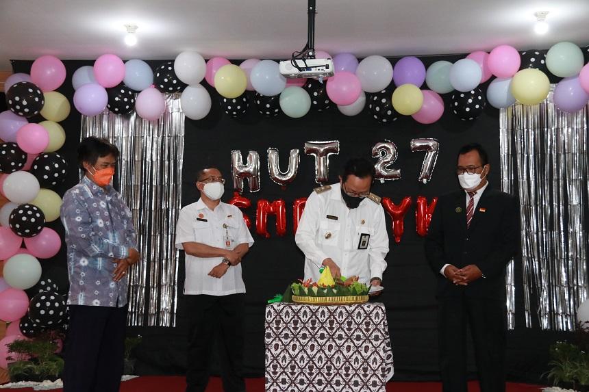 HUT Ke-27 SMP 4 Yogya Siapkan Diri Jadi Sekolah Unggul