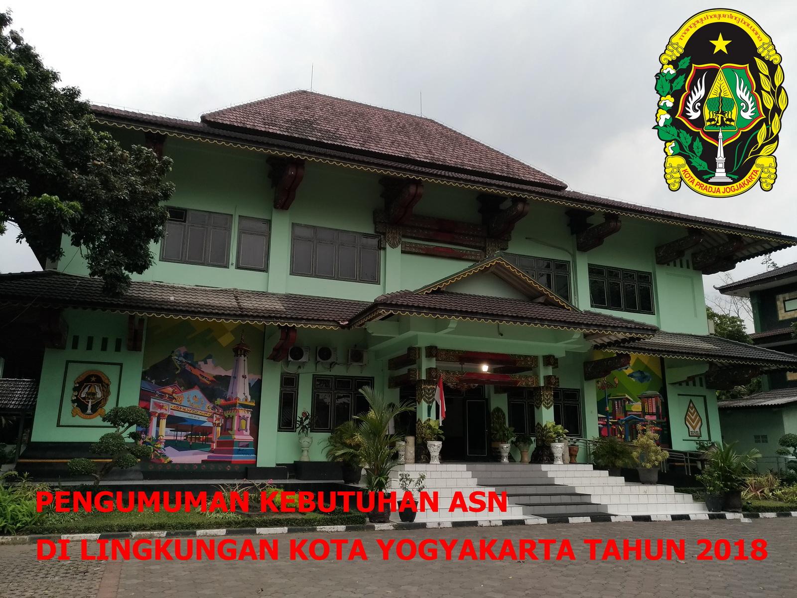 Pengumuman Pendaftaran CPNS Kota Yogyakarta Tahun 2018
