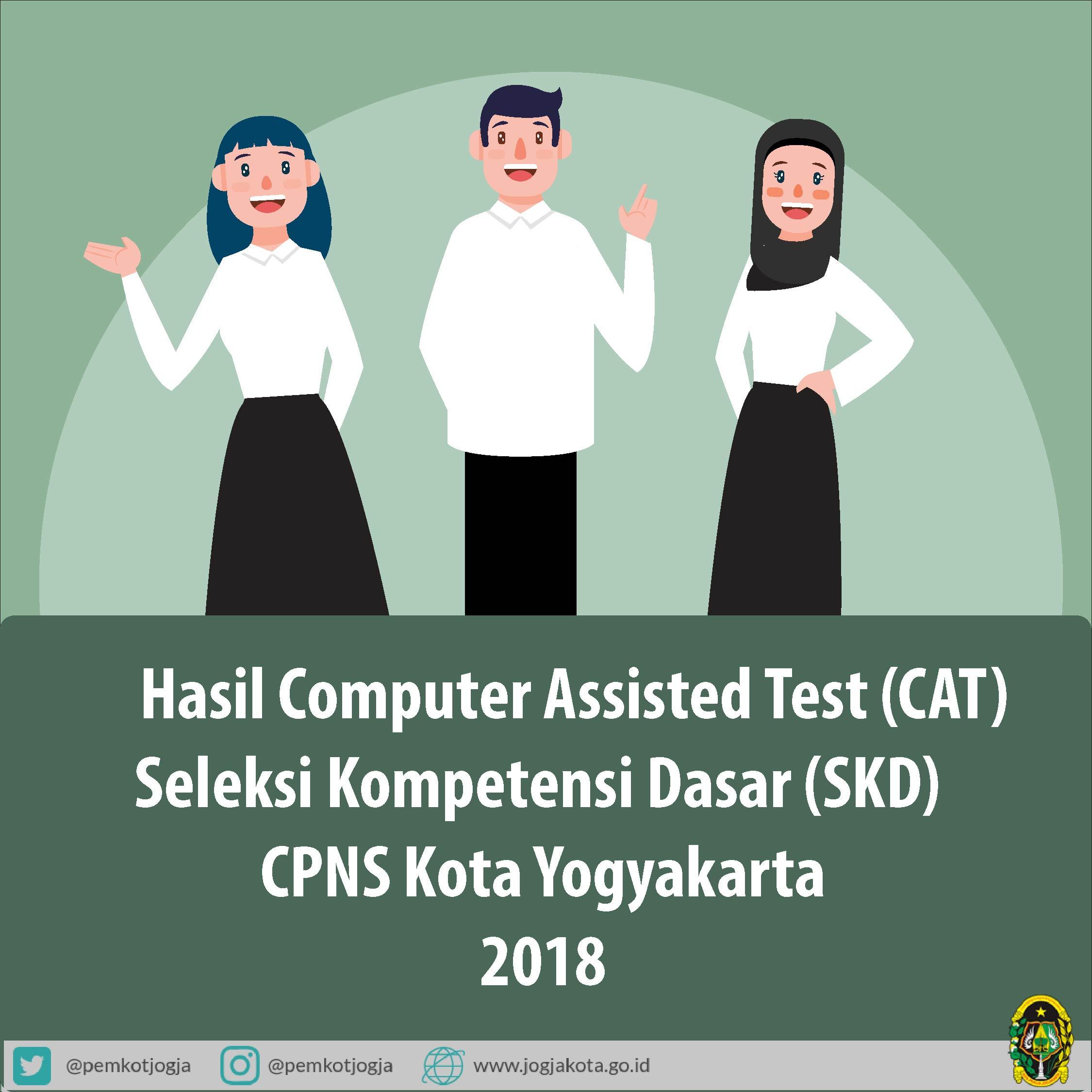 Hasil Computer Assisted Test (CAT) Seleksi Kompetensi Dasar (SKD) CPNS TA 2018
