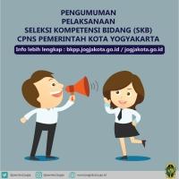 Peserta Seleksi Kompetensi Bidang (SKB) CPNS Pemerintah Kota Yogyakarta 2018