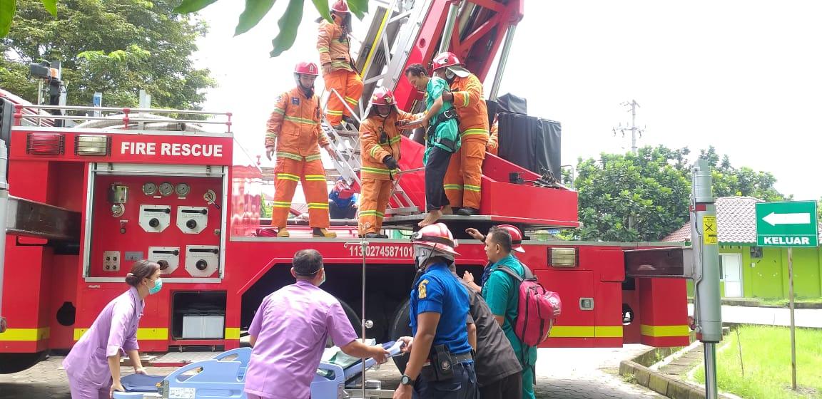 Latih Mitigasi Bencana, RS Jogja Adakan Simulasi Kebencanaan