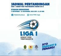 Jadwal Pertandingan Liga I Askot PSSI Yogyakarta tahun 2018