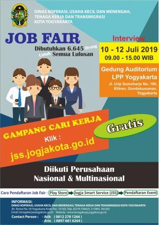 Job Fair Pemkot Sediakan 6.645 Lowongan