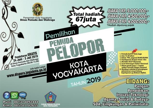Pemilihan Pemuda Pelopor Tingkat Kota Yogyakarta 2019